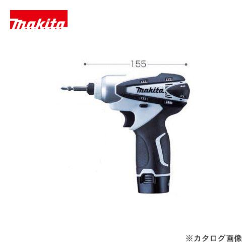 マキタ Makita 10.8V 1.3Ah 充電式インパクトドライバ 白 TD090DWXW
