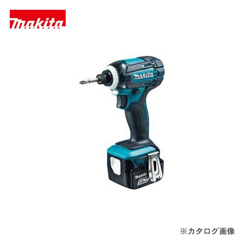 マキタ Makita 充電式インパクトドライバ 14.4V バッテリー×2本・充電器・ケース付 TD138DRFX