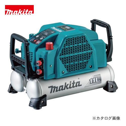 マキタ Makita 11L 46気圧 エアコンプレッサ 高圧/一般圧対応 青 AC462XL