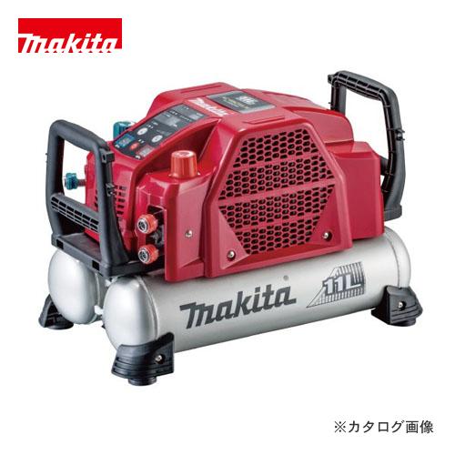 マキタ Makita 11L 46気圧 エアコンプレッサ 高圧/一般圧対応 赤 AC462XLR