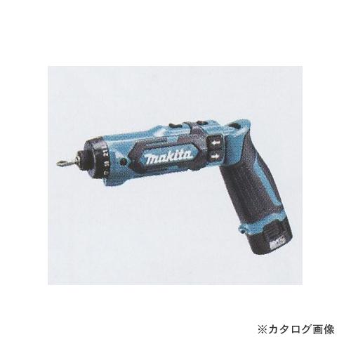 マキタ Makita 7.2V 充電式ペンドライバドリル 青 本体のみ DF012DZ