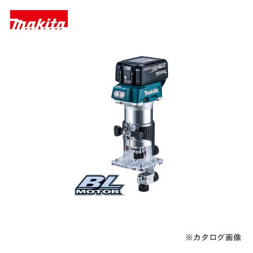 マキタ Makita 18V 充電式トリマ Li-ion 6.0Ah (バッテリ・充電器・プラスチックケース付) RT50DRG