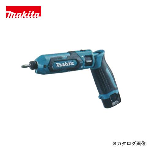 【イチオシ】マキタ Makita 7.2V 1.5Ah 充電式ペンインパクトドライバ 青 バッテリー×2本・充電器・アルミケース付 TD022DSHX
