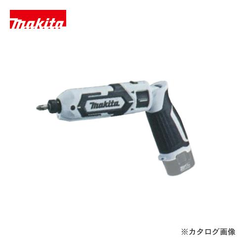マキタ Makita 7.2V 充電式ペンインパクトドライバ 白 本体のみ TD022DZW