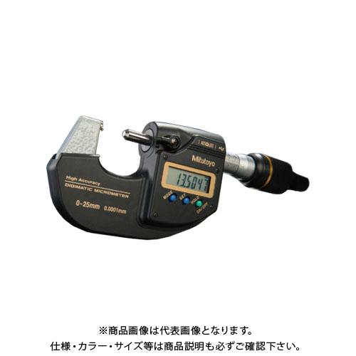 ミツトヨ Mitutoyo 高精度デジマチックマイクロメータ(293-100-10) MDH-25MB