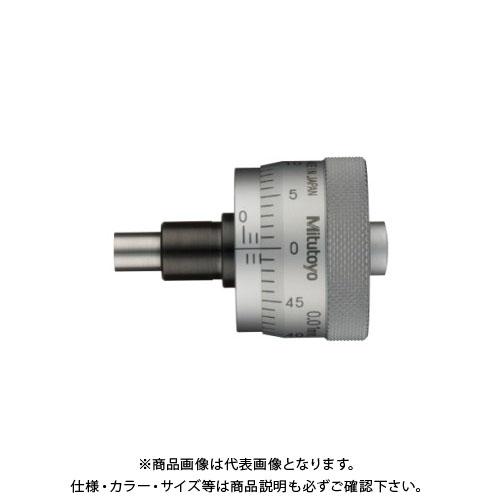 ミツトヨ Mitutoyo マイクロメータヘッド(標準型) ストレートステム 先端平面 (148-305) φ29 MHC1-6.5G