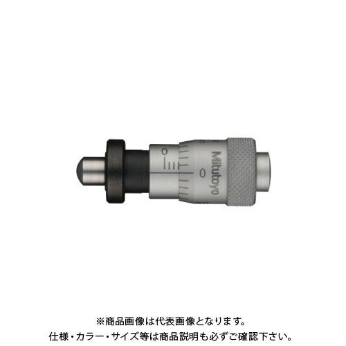 ミツトヨ Mitutoyo マイクロメータヘッド(高機能形) ナット付きステム 球面(SR4) (148-323) MHC4-6.5CF