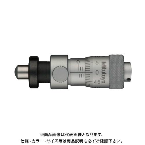 ミツトヨ Mitutoyo マイクロメータヘッド(標準型) ナット付 球面(SR4) (148-319) MHC4-6.5CLC