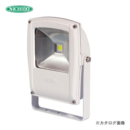 日動工業 LEDフラットライト 白 LED10W LEN-F10D-W-S