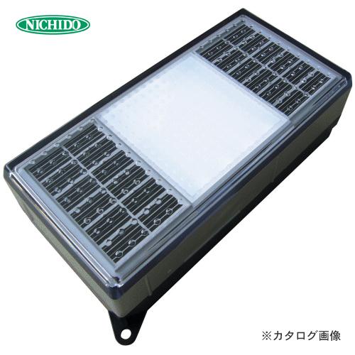 日動工業 ソーラーLEDタイル99 白 NST0408WL