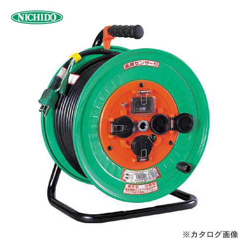 日動工業 100V 防雨・防塵型 電工ドラム (屋外型) 30m NW-EK33