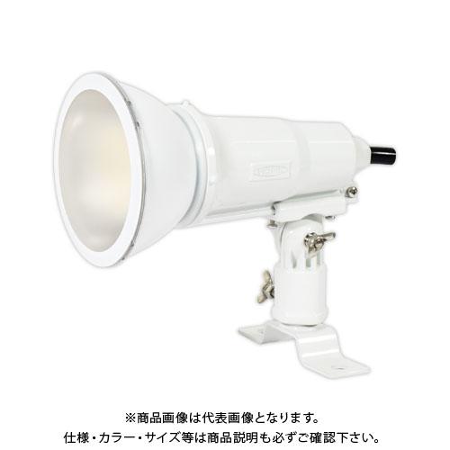 日動工業 常設用 LEDエコビック投光器 14W アース付 電球色 1.5m 本体色白 TOL-E14-W-30K