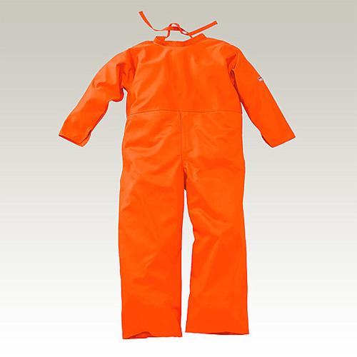 【納期約2週間】大中産業 ズボン付エプロン LLサイズ オレンジ FOTR-239R