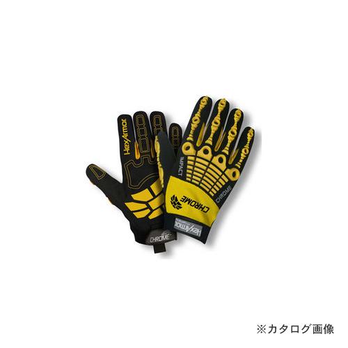 大中産業 ヘックスアーマー HexArmor NXT 耐切創・耐刺突手袋 耐衝撃手袋 CHROME サイズM 4025-8
