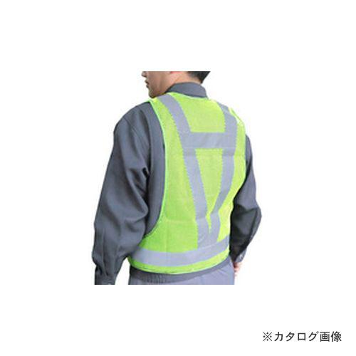 大中産業 [25着入] スポビーム 蛍光 LLサイズ 蛍光グリーン KGG-50