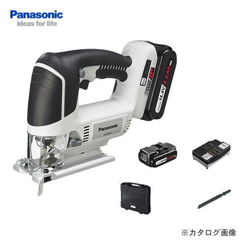バッテリーLSタイプ ブラック  【イチオシ】パナソニック Panasonic EZ4541LS2S-B 14.4V 4.2Ah 充電式ジグソー (黒)