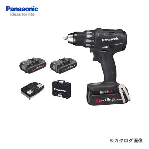 パナソニック Panasonic EZ74A2PN2G-B 18V 3.0Ah 充電ドリルドライバー (黒)