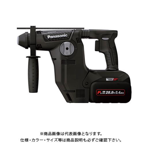 パナソニック Panasonic 充電ハンマードリル 電池2個・充電器・ケース付 (黒) EZ7881PC2S-B