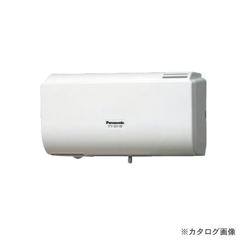 【納期約2週間】パナソニック Panasonic パイプファンQ-hiファン(8畳用) FY-8V-W