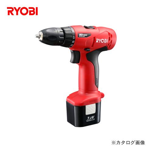 リョービ RYOBI 充電式ドライバドリル BD-7200
