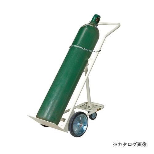 【直送品】サカエ SAKAE ボンベキャリー BC-10I