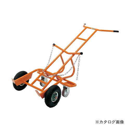 【直送品】サカエ SAKAE ドラム缶運搬車 DR-4C