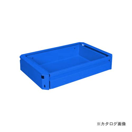 【直送品】サカエ SAKAE スーパー(スペシャル)ワゴン用キャビネット EM-CSETBL