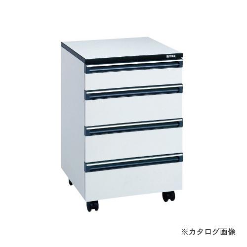 【直送品】サカエ SAKAE サイド実験台用オプションキャビネットワゴン HA-4
