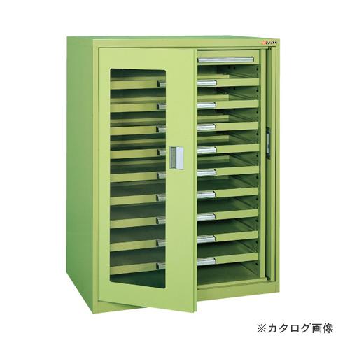 【直送品】サカエ SAKAE ミニ工具室・横ケント式 K-K1051A
