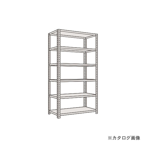 【運賃見積り】【直送品】サカエ SAKAE 軽量開放型棚ボルトレス KFF3546