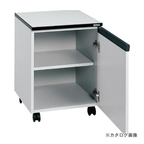 【直送品】サカエ SAKAE 木製キャビネットワゴン LC-0