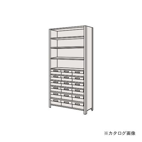 【運賃見積り】【直送品】サカエ SAKAE 物品棚LEK型樹脂ボックス LEK2111-18T