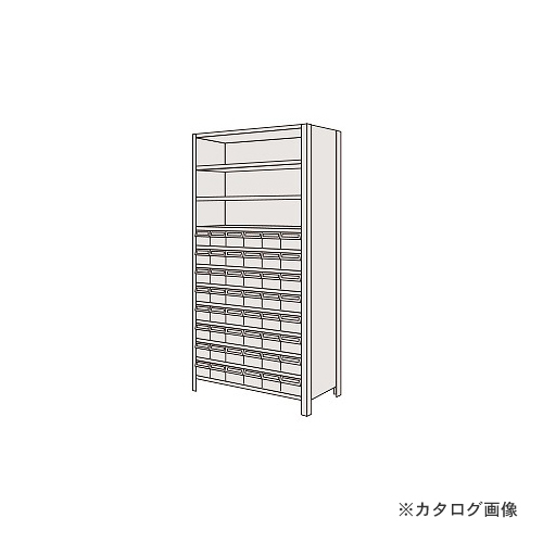 【運賃見積り】【直送品】サカエ SAKAE 物品棚LEK型樹脂ボックス LEK2122-48T