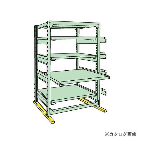 【運賃見積り】【直送品】サカエ SAKAE 中量スライドラック MSR1812K05T