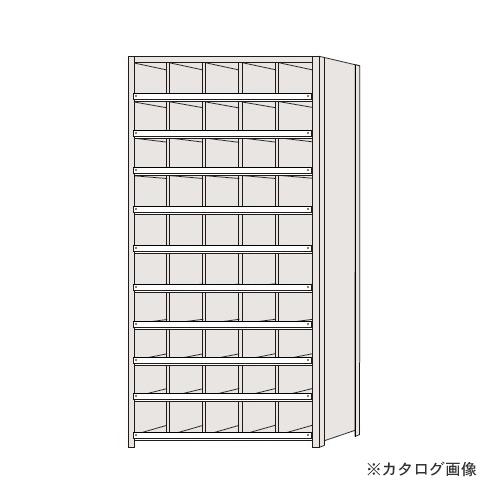 【運賃見積り】【直送品】サカエ SAKAE 区分棚 コボレ止め付タイプ NCC111-510