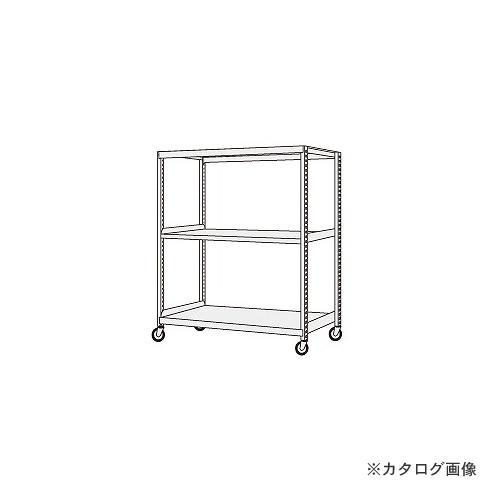 【運賃見積り】【直送品】サカエ SAKAE 中量キャスターラック NKR-8563WGJ