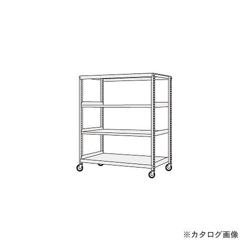 【運賃見積り】【直送品】サカエ SAKAE 中軽量キャスターラック NSR-8124GUJ