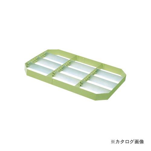 【個別送料1000円】【直送品】サカエ SAKAE ニューパールワゴン用オプション仕切板セット PM-2
