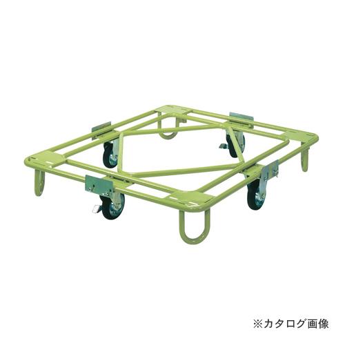 【直送品】サカエ SAKAE 自在移動回転台車 中量型 標準タイプ RB-4G