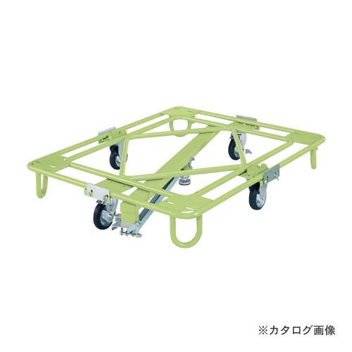 【直送品】サカエ SAKAE 自在移動回転台車 中量型 センターベース付 RB-4KG
