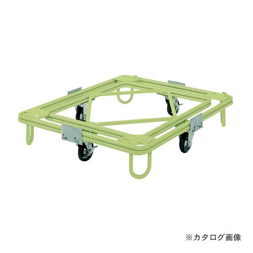 【直送品】サカエ SAKAE 自在移動回転台車 中重量型 標準タイプ RC-1G