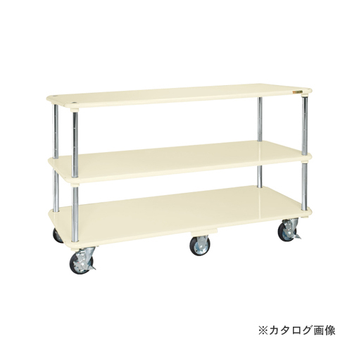 【直送品】サカエ SAKAE 自在移動運搬車(六輪車仕様) RD-1512I