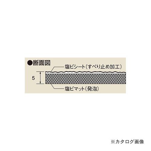RM-CM 【個別送料1000円】【直送品】サカエ SAKAE オプションPVCマット(すべり止め)