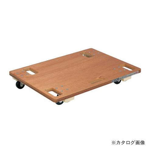 【個別送料1000円】【直送品】サカエ SAKAE 板台車 スタッキング仕様 SD-6N