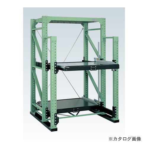 【運賃見積り】【直送品】サカエ SAKAE スライドラック フルストロークタイプ SDR-23FT
