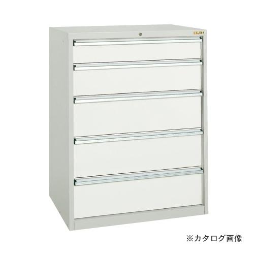 【直送品】サカエ SAKAE ワイドキャビネットWGタイプ WG-5D4GY