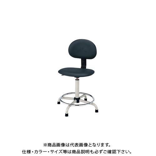 【直送品】サカエ ワークチェアー C3P-BKN