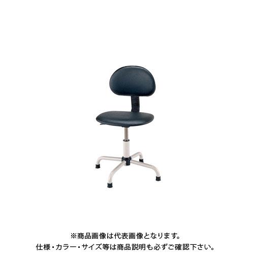 【直送品】サカエ ワークチェアー C4P-BKN