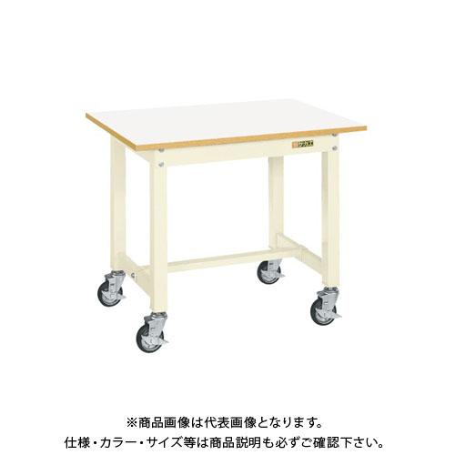 【直送品】サカエ 中量作業台CBタイプ移動式 CB-157FIV