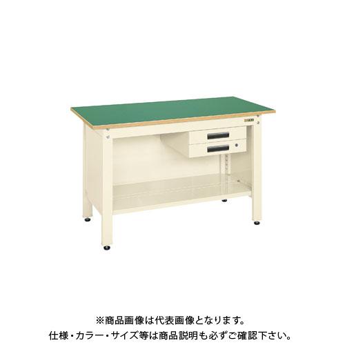 【直送品】サカエ 一人用作業台・軽量固定式 CP-096BI